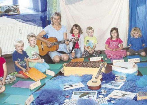 Rhythmik für Kinder